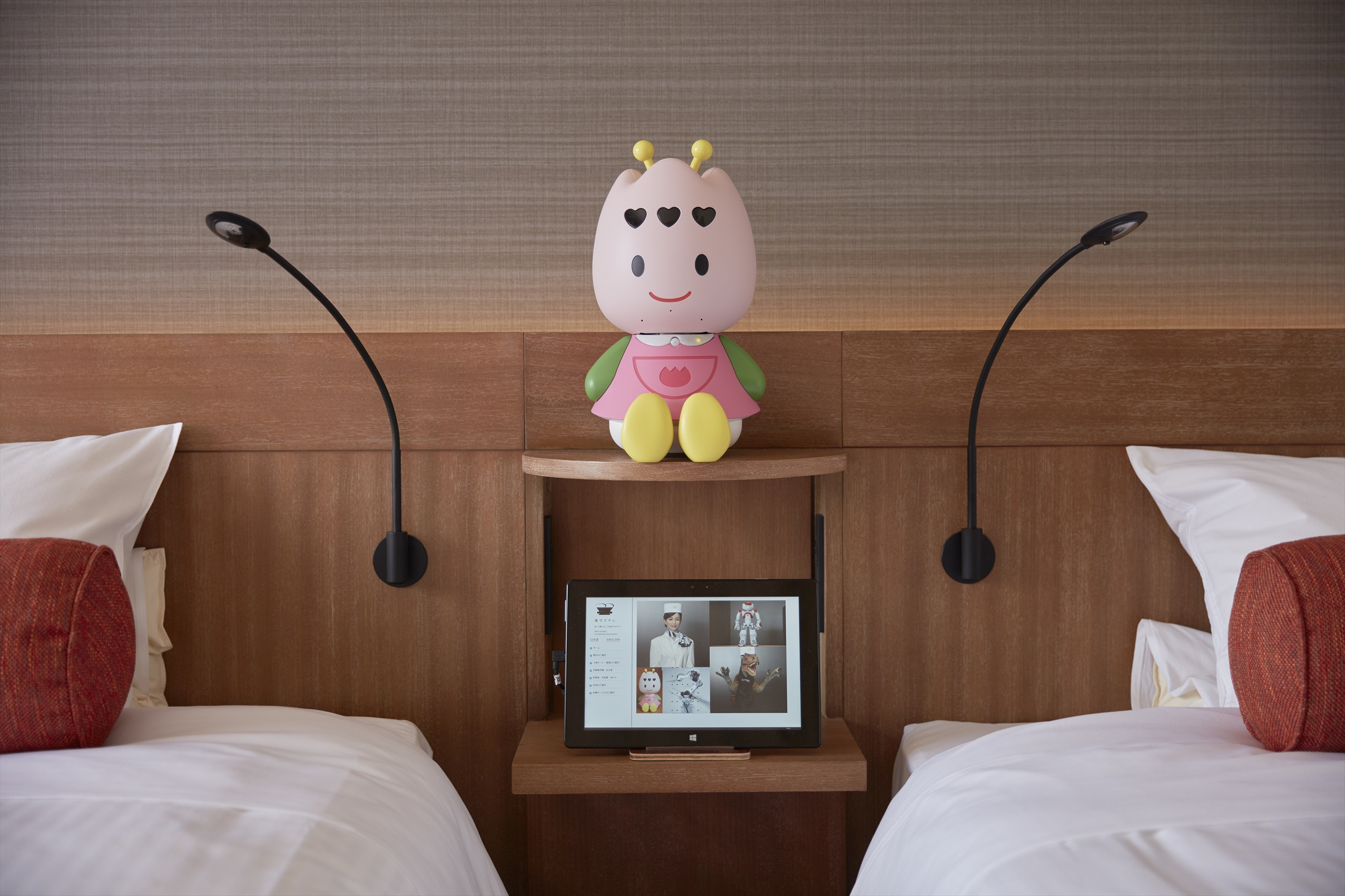 Henn-na Hotel Tulip robot - Photo by HUIS TEN BOSCH