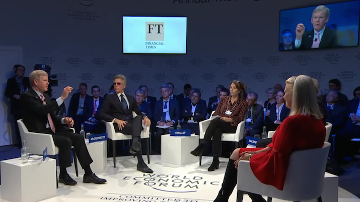Davos CEO panel World Economic Forum