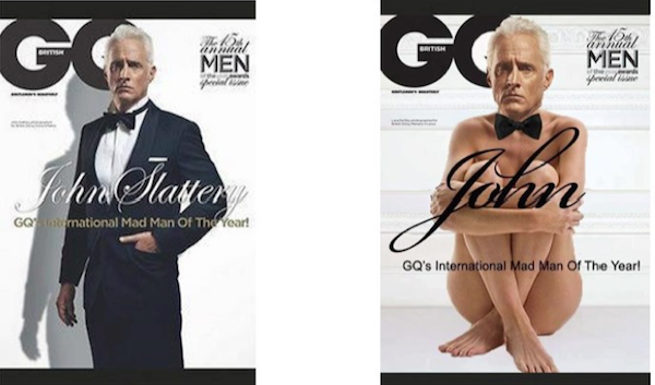 Unconscious bias GQ Man of the Year cover