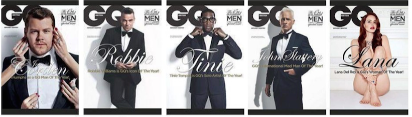 Unconscious bias GQ Man of the Year