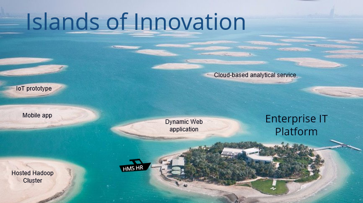 Islands of digital innovation