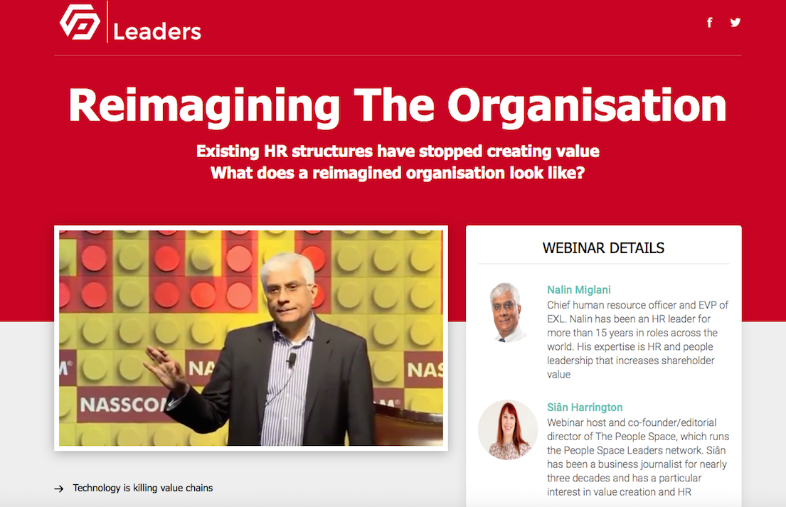 Reimagining the organisation