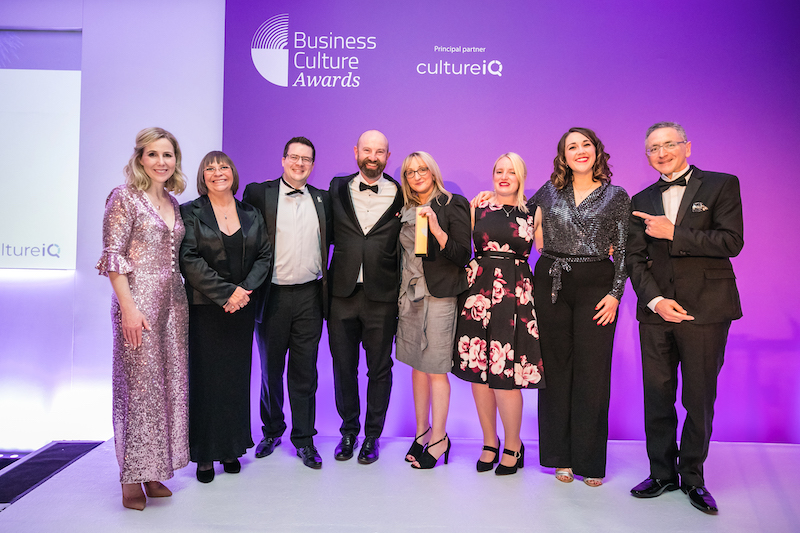 Wrightington, Wigan and Leigh NHS Foundation Trust Overall Business Culture Awards winner