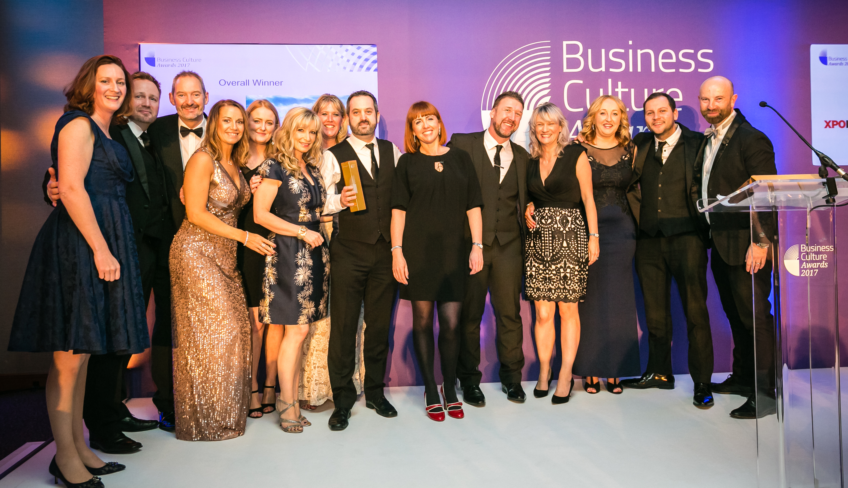 XPO Logistics take Gold Business Culture Award