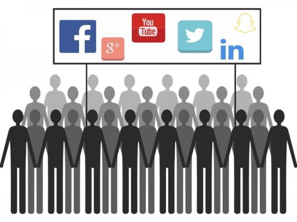 Social media picket line