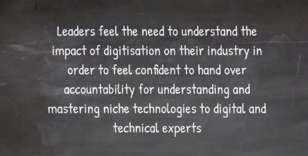 Leaders need technology skills
