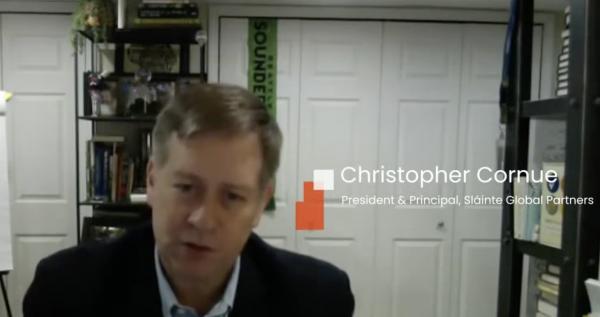 Christopher Cornue, president & principal of sláinte global partners