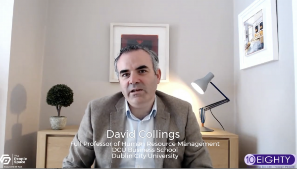 David Collings, full professor of human resource management and associate dean for Research at DCU Business School, Dublin City University.