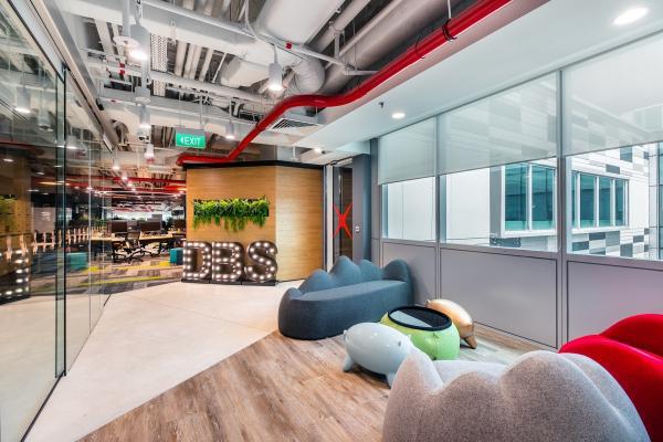 DBS workspaces ©DBS