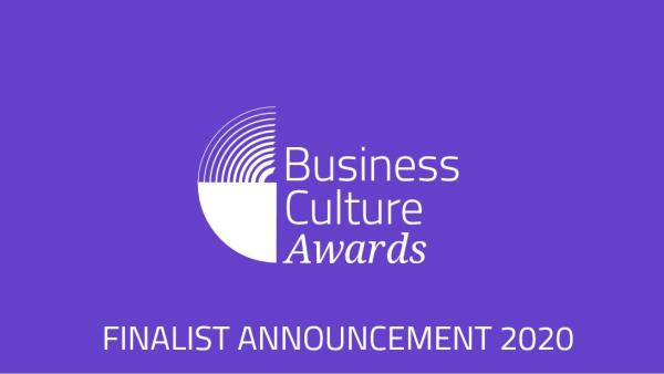 Business Culture Awards 2020 Finalists