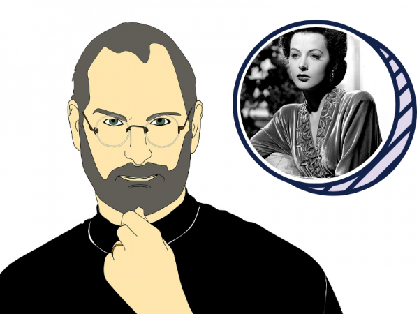 Steve Jobs and Hedy Lamarr