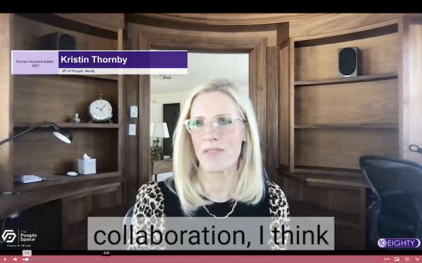 Meet the Human-Focused Leaders of 2021: Kristin Thornby, VP of people at Neo4j