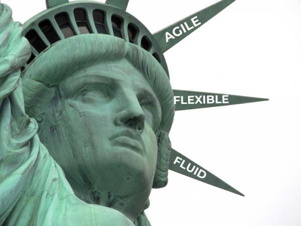Agility, flexibility and fluidity are the new 'American Dream