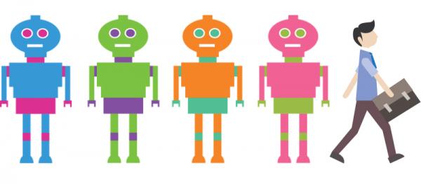Robots steal jobs