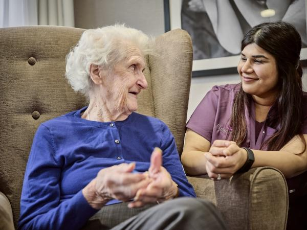Caring for the carers at Sunrise Senior Living