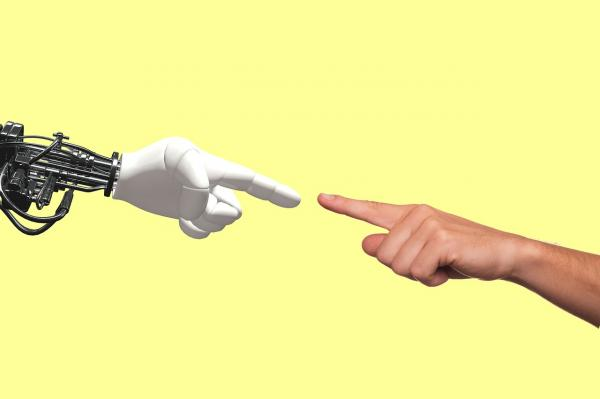 Robot human interface